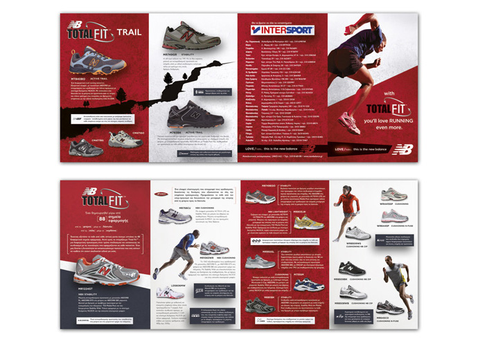 Shoe brochures shoes design for Nike brochure design